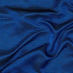 Seide Satin Barré/Ottoman RAJ BLUE/GREEN