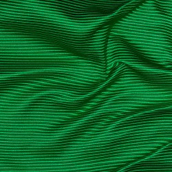 Seide Satin Barré/Ottoman RAJ GREEN