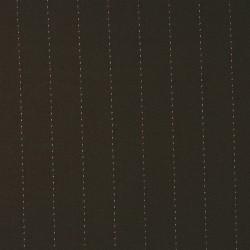 Nadelstreifen Stretch-Wollstoff SAPIN OLIVE