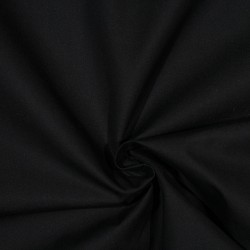 Outdoorstoff Baumwoll-Popeline VAUGIRARD BLACK