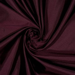 Seide Taft Satin Duchesse VIRTON PLUM-BLACK