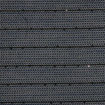 Baumwolle/Polyester-Lancé BUCI BLUE