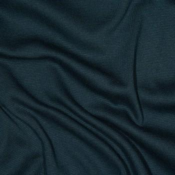 Baumwolle Interlock-Jersey/Bündchenstoff FIRION PETROL