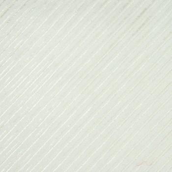 Seiden-Diagonal-Decoupé GIROU WHITE