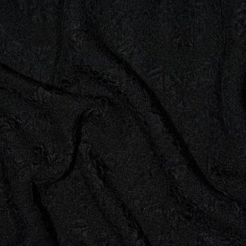 Seiden-Matlassé HARI BLACK