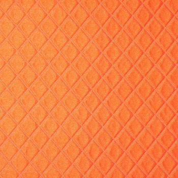 Polyester Seide Piqué ISERE ORANGE