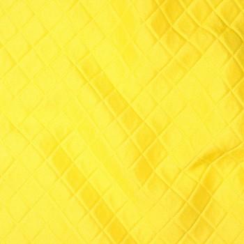 Seide/Polyester-Piqué ISERE YELLOW