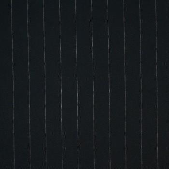 Nadelstreifen Viskose/Polyester MONCEAU