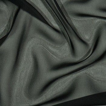 Seiden-Georgette MONDOVA BLACK