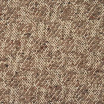 Schurwolle Tweed NOISETTE