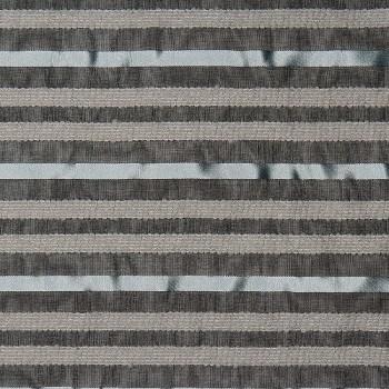 Seide/Acryl/Wolle/Nylon Organza ONEGA BLACK/BLUE/GREY