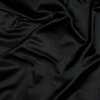 Seiden-Taft Duchesse VIRTON PLUM-BLACK