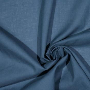 Baumwoll-Voile ZACCHEO BLUE